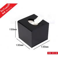 Buy cheap Square Mini Transparent Facial Tissue Box ,  Acrylic Holder Stand For Hotel from wholesalers