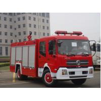 China Diesel Type Special Purpose Trucks / Fire Fighting Truck For Fire Rescue on sale