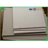 Buy cheap A1 size 1.0mm 1.5mm 2.0mm thick grey cardboard for book binding from wholesalers