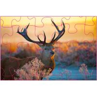 Buy cheap Promotion 3D Lenticular Printing Jigsaw Puzzles/ Custom 3D Lenticular PET Puzzles from Wholesalers