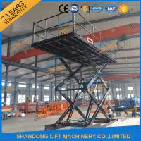 China CE 3T 4.6M Hydraulic Home Garage Car Scissor Lift , Heavy Duty Home Garage Scissor Car Lift on sale
