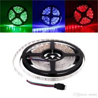 Buy cheap Waterproof/Non-Waterproof 5M/roll 3528 300LEDs SMD LED Strip Light Lamp DC 12V from wholesalers