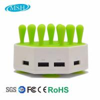 Buy cheap Phone Tablet Multiple USB Charger Station , 4 Ports USB Desktop Charger Station from Wholesalers