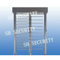 Buy cheap RFID access control dual full height turnstile pedestrian turnstile from wholesalers