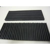 Buy cheap black vibration Isolator rubber pad without smell from Wholesalers