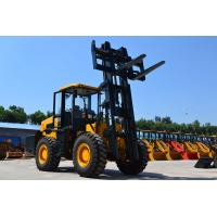 Buy cheap 10ton/12ton all terrain forklift 10ton/12ton rough terrain forklift truck with Cummins engine from Wholesalers