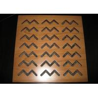 Buy cheap Wooden Perforated MDF Acoustic Panel Board For Wall / Ceiling BT new pattern from Wholesalers