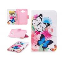 Buy cheap Colorful Butterfly Card Pocket Phone Case , Huawei Phone Wallet Case from Wholesalers