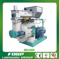 Buy cheap Biomass Rice husk Pellet press & wood sawdust pellet mill with Siemens motor from Wholesalers