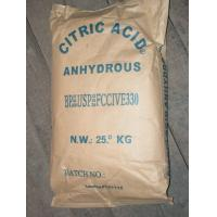 Buy cheap Citric Acid Anhydrous Food Additives Ingredients from Wholesalers