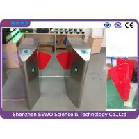Buy cheap Glass Swing Automatic SEWO Flap Barrier Gate , IP54 speedgate systems from Wholesalers