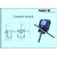 Quality Blue Electric Wire Rope Hoist Steel Holding Limited Switch Used In Hoist And Complex Crane System wholesale