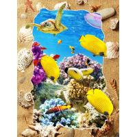 Buy cheap 5d Deep Effect Ocean Feature Images Custom Lenticular Printing For Office / Hotel Decoration from Wholesalers