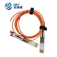 Buy cheap 40G AOC QSFP+ 850nm multimode 3m Fiber Optical Transceiver Module from Wholesalers