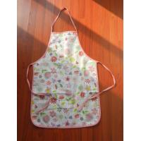 China Quanlified Washable advertising apron cotton Custom printed Adult apron on sale