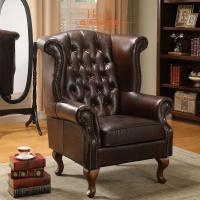 Buy cheap Leisure Comfortable Single Chair Lounge / Modern Chesterfield Sofa from Wholesalers