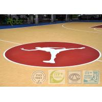 Buy cheap 7MM Multi - purpose Outdoor Sports Field With Polyurethane Material Maple Color from wholesalers