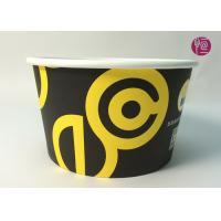 Buy cheap 185mm Round Printed Paper Salad Bowls Take Away With PET Lid from Wholesalers