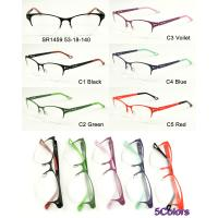 Buy cheap New metal optical frames,in ready stock. small quantity acceptable. 5 colors availabe, factory sale directly! SR1459 from wholesalers