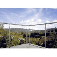 Buy cheap Stainless steel rod railings for prefabricated modern balcony railing from wholesalers