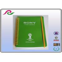 Quality coated paper cover A5 / A3 / A4 Spiral bound Daily writing notebooks , 80 gsm for sale
