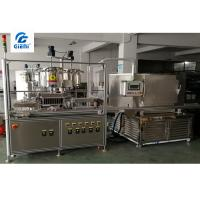 Buy cheap Silicone Mould Lipstick Manufacturing Equipment / Production Line Color Cosmetic from wholesalers