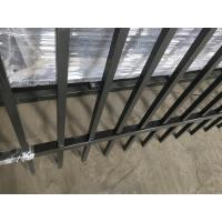 Buy cheap Australia Market 1.8m*2.4m welded and powder painted black color iron fence panel from wholesalers
