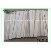 Buy cheap Surgical / Medical Hospital Disposable Products Wooden Tongue Depressor , 15*1.8cm from wholesalers