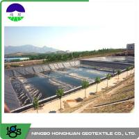 Buy cheap 3.00mm Flexible HDPE Geomembrane Liner For Wastewater Treatment Plant from Wholesalers