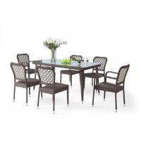 Buy cheap Classic 6 Seater Outdoor Rattan Furniture, Suitable For Many Place from wholesalers