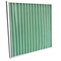 Quality Filteration System Panel Type Aluminum Frame Air Conditioner Air Filters G3 G4 for sale