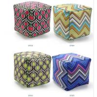 Quality Large bolster cushion,repeat vector graphic cushion,beads filling pouf floor cushion wholesale