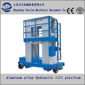 China Aluminum alloy hydraulic lifting platform on sale
