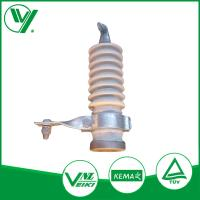Buy cheap 9KV White Color Gapless Lightning Protector With Porcelain Housed from Wholesalers
