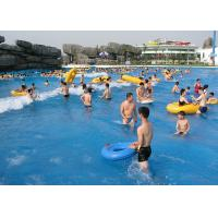 Buy cheap 4 - 6m Width Water Park Equipment Family Commercial Lazy River Customized Length from wholesalers