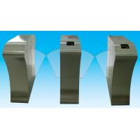 Buy cheap RS485 flap barrier 304 stainless steel security gate barrier for indoor / outdoor from Wholesalers