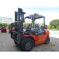 Buy cheap EPA Approved 4 Tonne Gasoline Forklift Truck Material Handling Machines Dual Front Tires from Wholesalers