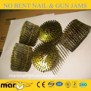 Quality 0.099 gun nails/gun coil nails/ coil nail for pallet for sale
