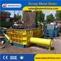 Wanshida CE Certification Hydraulic Scrap Steel Baling Machine