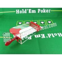 Buy cheap Baccarat dealing shoe to see the first coming card and to change the cards dealt from Wholesalers