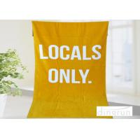 Quality Soft Fast Dry Personalized Beach Towels Monogrammed For Adults , Full Color Reactive Printed wholesale