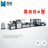 Buy cheap 5 - in - 1 Automatic Non Woven Bag Making Machine / Auto Non Woven Fabric Machinery from Wholesalers