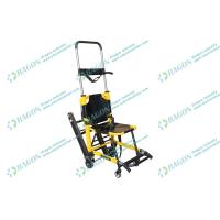 Buy cheap First aid foldable stair stretcher with safety belts , medical / hospital stretchers from Wholesalers