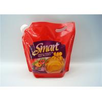 Buy cheap Transparent Liquid Spout Bag For Beverage / Energy Drink Packaging from Wholesalers
