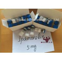 Buy cheap Muscle Gain Protein Peptide Hormones Ipamorelin 2mg Injectable Ipamorelin Lyophilized Powder from wholesalers