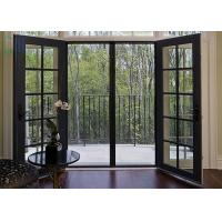 Buy cheap Grilles Design Hinged Aluminium Doors , Exterior / Interior Swinging Doors from Wholesalers