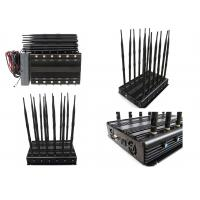 China Long  Time Working 12 Bands 12 Antennas Cell Phone Signal Jammer Jam GSM 2G 3G 4G on sale