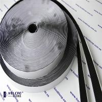 Quality Black Color Self Adhesive Hook And Loop Tape Carpet Velcro Tape Hot Melt Glue wholesale