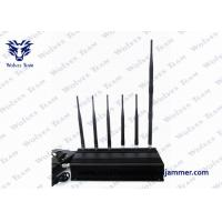 Buy cheap 6 Antenna Handheld Signal Jammer 15 Watts Output Power 40 Meters Range from wholesalers