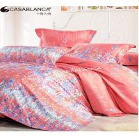Buy cheap Purified Cotton Floral Elegant Bed Set High Yarn Count With Reactive Printing from Wholesalers